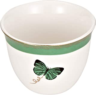 Harmony Green Butterfly Cawa Cups - 12 Pieces