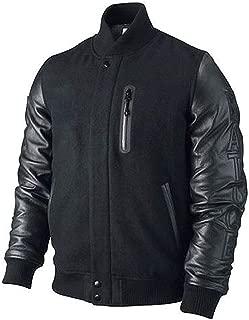 Michael B Jordan Kobe Destroyer XXIV Battle Wool and Leather Sleeves Jacket