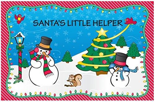 Set de table de Noël – Père Noël Little Helper