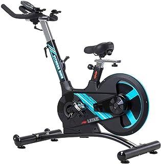 Stationary Bike Exercise Bike Indoor Sports Pedal Bike Gym Equipment 22 Kg Dynamic Flywheel Removable Heart Rate Monitoring