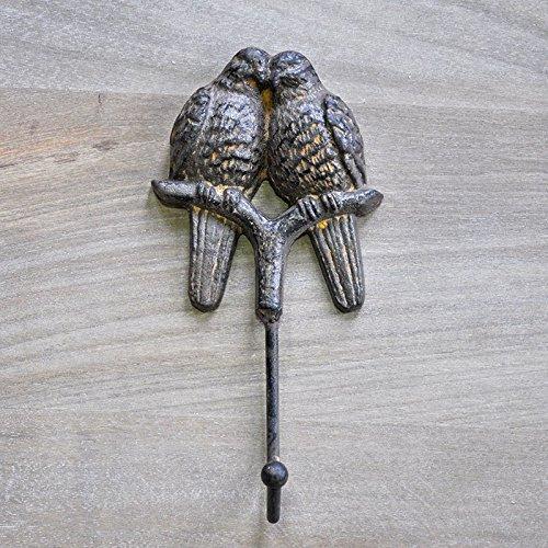 Patère Couple d'oiseaux