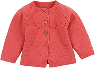 Weixinbuy Kids Baby Boy's Girl's Button-up Sweater Cardigan Winter Warm Outerwear Clothes