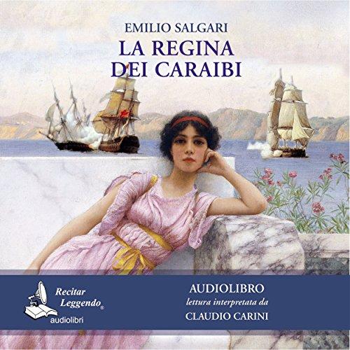 La regina dei Caraibi audiobook cover art