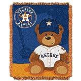 MLB Houston Astros Baby Woven Jacquard Throw Blanket, 36' x 46'