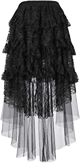 Best high low lace skirt Reviews