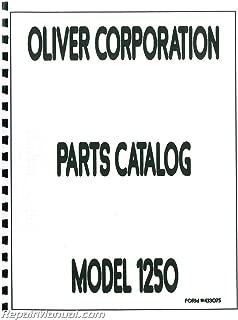 JS-OL-P-1250 Oliver 1250 Parts Manual
