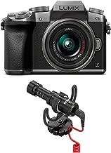 PANASONIC LUMIX G7 4K Mirrorless Camera (Silver) with Rode VideoMicro Compact On-Camera Microphone