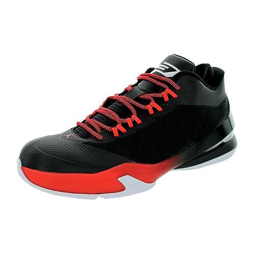 ca53c1fbc94 Nike Jordan Men s Jordan CP3.VIII Black White Infrared 23 Basketball Shoe  9.5