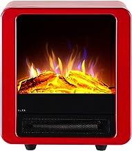 Moll Chimenea Eléctrica Portátil Estufa Calefactor Termostato Ajustable 1800W Llama Decorativa
