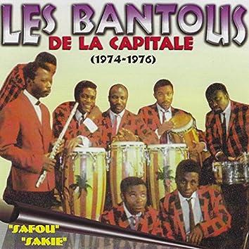 Les Bantous De La Capitale 1974-1976 (Safou Sakie)