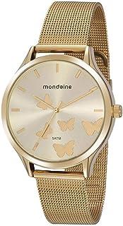 Relógio Mondaine 76752LPMVDE1 Feminino 5 ATM, Dourado
