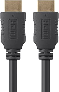 Monoprice 104956  HDMI High Speed Cable - 4 Feet - Black, 4K@60Hz, HDR, 18Gbps, YUV 4:4:4, 28AWG - Select Series