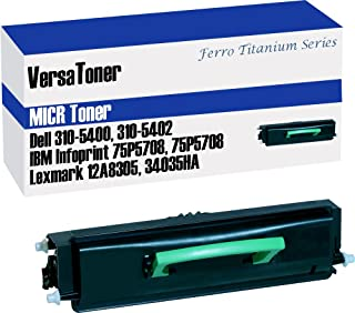 VersaToner - Dell 310-5400/5402 Black (MICR) - Toner Cartridge
