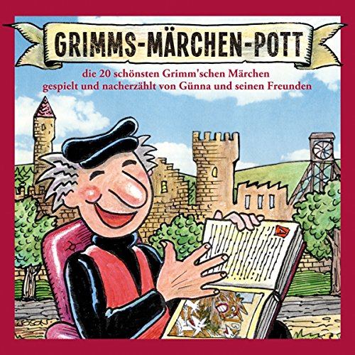 Grimms-Märchen-Pott audiobook cover art