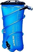 JHuuu 1.5L/2L Hydration bladders for backpacks Foldable TPU Water Bag Leak-Proof Water Bladder BPA Free Water Reservoir bl...