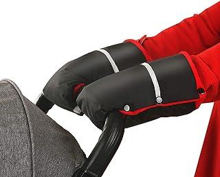 LEZED Vintervagnshandskar barnvagn hand muff buggy barnvagn handmuff handskar anti-frys varma handskar vagn varm väska med...