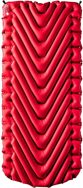 Klymit Static V Luxe Sleeping Pad Extra Wide Up To 30 Inches Maximum Comfort For Car Camping Travel And Backpacking Insulated And Non Insulated