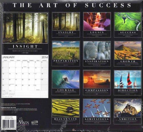 The Art of Success 2014 Motivational Wall Calendar Photo #2