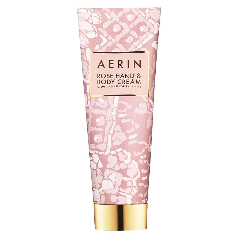 うんざり隠された明るいAerinはハンド&ボディクリーム125ミリリットルをバラ (AERIN) - AERIN Rose Hand & Body Cream 125ml [並行輸入品]