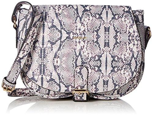 Codello Cross Body Bag 61011605 Damen Umhängetaschen 28x22x7 cm (B x H x T), Schwarz (Black 07 07)