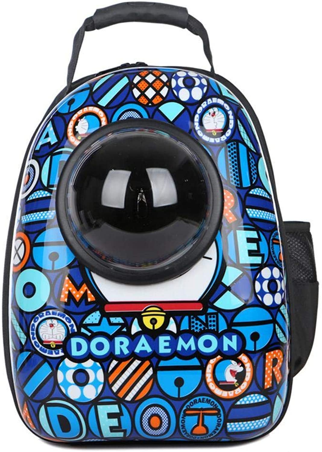 Aoligei Space Cabin Breathable cat Out of Pocket Backpack PVC+ Oxford 30  28  44cm