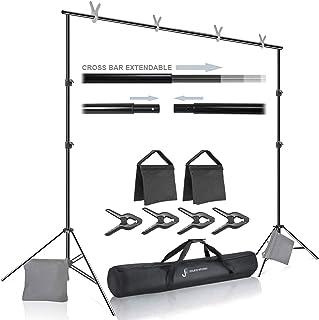 Julius Studio Premium Photo & Video 10 ft. Wide Backdrop Stand (119 x 86 inch)..