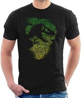 Jurassic Park T Rex Silhouette Asset Out Men's T-Shirt