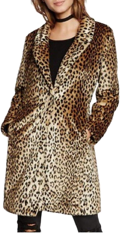 XTRENM Women Fleece Walker Coat MidLong Fluffy Cardigan Overcoat