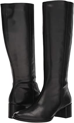 425a3f9b78a Black Cow Leather. 236. ECCO. Shape 35 Block Tall Boot