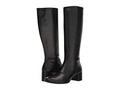 ECCO Shape 35 Block Tall Boot (Black Cow Leather) Women