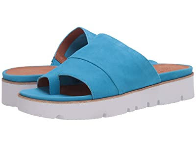 Gentle Souls by Kenneth Cole Lavern (Bright Blue Suede) Women