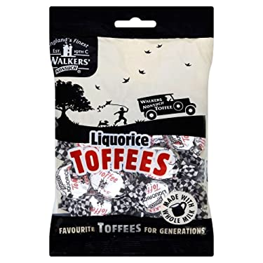 Walkers Nonsuch Liquorice Toffees (5.29oz) – Pack de 2