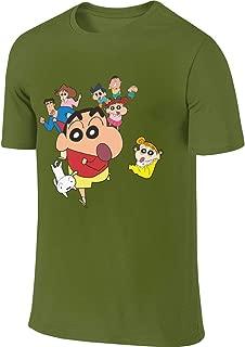 Design Adult Men's Short Sleeve T Shirts - Crayon Shin Chan