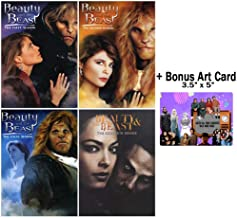 Beauty and the Beast: Complete Original + Reboot TV Series DVD Collection + Bonus Art Card