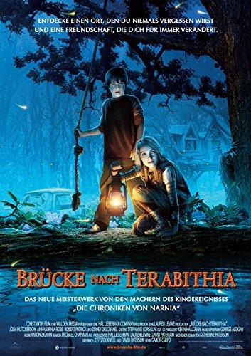 Brücke nach Terabithia (2007)   original Filmplakat, Poster [Din A1, 59 x 84 cm]