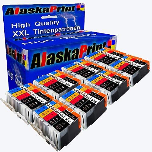 40x Druckerpatronen Komp. für Canon PGI-550 XL CLI-551 XL mit Canon Pixma MG5450 MG5550 MG5650 MG6450 MG6650 MG7500 MX725 MX925 IX6850 IP7200 IP7250 IP8700 IP8750 MX720 IX6800 MX920 MG5655 MG7550