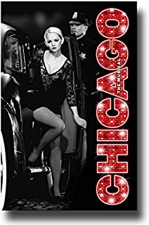 Chicago Poster - Broadway Musical Theater Play 11x 17 Car