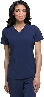 EDS Essentials Women's V-Neck Solid Scrub Top