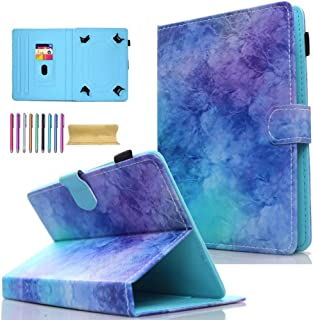 "AMOTIE - Funda universal para tablet Samsung Galaxy, iPad, Amazon Kindle, Google Nexus y más tabletas de 6.5-10.5"", 09# Pú..."