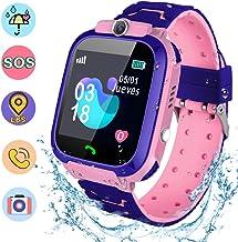 NAIXUES Smartwatch Niños, Reloj Inteligente Niña IP67, LBS