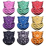 Venswell Neck Gaiter Mask, Sun Mask, Rave Bandana Face Mask,...
