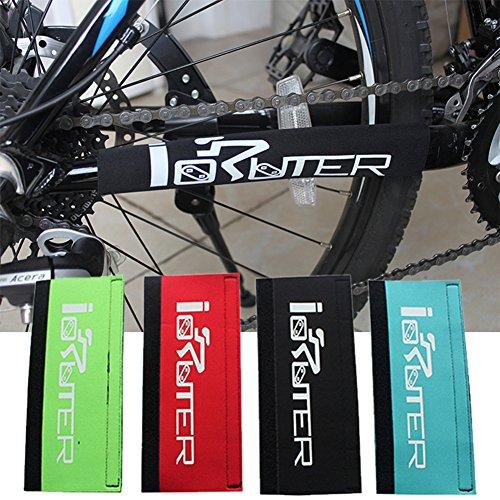 Mountainbike Kettenstreben-Schutzprotektor für Hinterbau, Rahmen des Fahrrads, Polsterabdeckung, schwarz