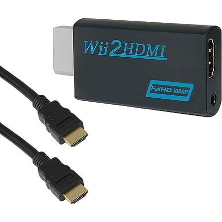 ATATMOUNT Convertitore Adattatore Audio Video AV Composito da Maschio HDMI Nero a 3 RCA Femmina Spina placcata in Oro e Anima in Rame Puro Materiale per TV