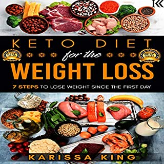 Keto Diet for the Weight Loss: 7 Steps to Lose Weight audiobook cover art