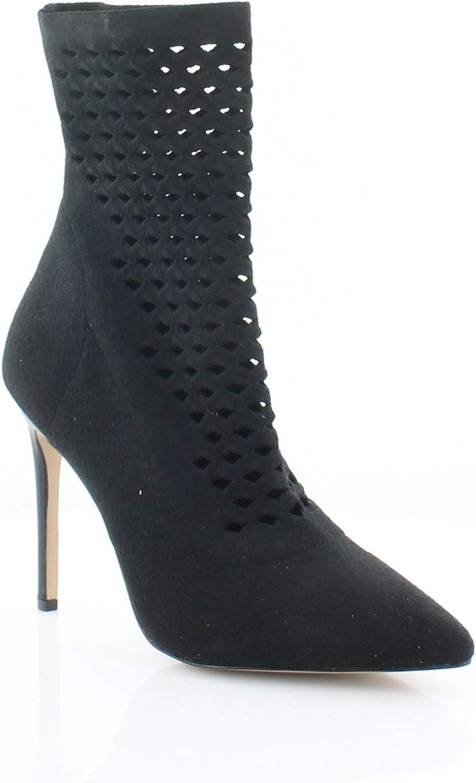 Aldo Womens Seassi Perforated Pointed Toe Sock Boot