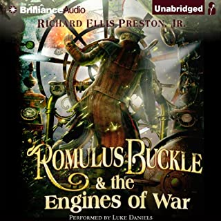 Romulus Buckle & the Engines of War audiobook cover art