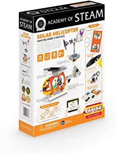 Engino - Academy of STEAM Toys   Solar Helicopter: Converting Solar to Electricity - Building Toys and Learning Activities (2 Model Options)