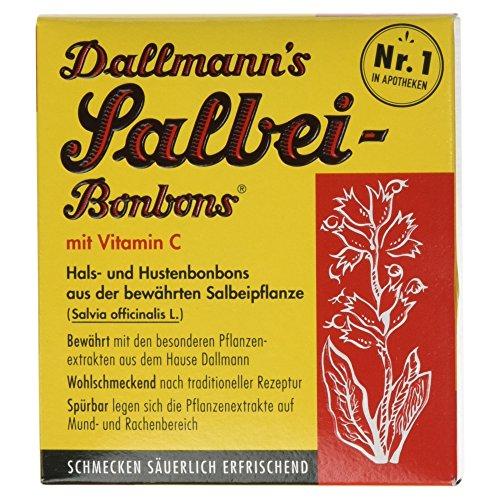 Dallmann´s Salbei-Bonbons mit Vitamin C, 20 Stück, 37 g