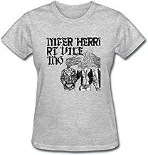 VEBLEN Women's Kurt Vile Design Cotton T Shirt