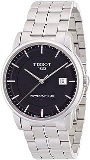 Tissot Men's T0864071105100 T classic powermatic Analog Display Swiss Quartz Silver Watch